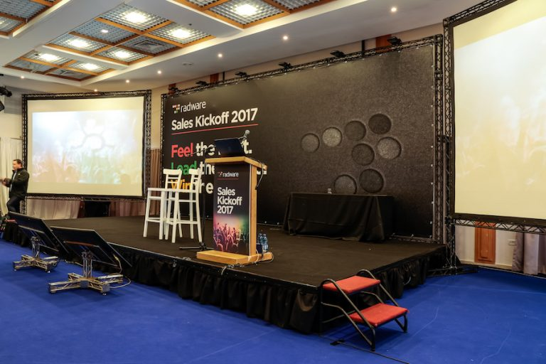 תמונת אירוע במלון יערים של הבמה - Radware conference