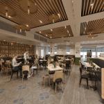 המלון שופץ ועוצב מחדש - מסעדה